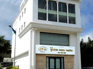 P N G Jewellers Showroom Rooms by Srujan Interiors & Architects Pvt Ltd