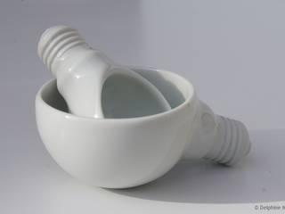 Mise en bouche BULB:  de style  par Atelier Ceramics d. - Delphine Millet
