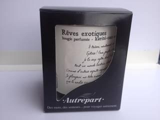"""BOUGIE PARFUMEE """"REVES EXOTIQUES"""", parfum Karité-coco:  de style  par AUTREPART"""