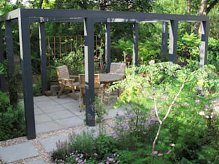 Contemporary Pergola Garden Fenton Roberts Garden Design Сад