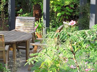 Contemporary Pergola Garden Fenton Roberts Garden Design Taman Modern