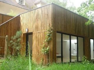 AADD+ Varandas, alpendres e terraços minimalistas