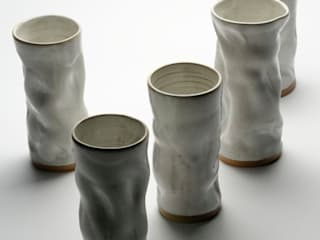 "Vases collection ""papier"":  de style  par Nine Céramique"