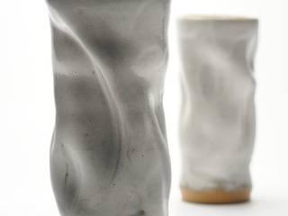 """Vases collection """"Papier"""" par Nine Céramique Moderne"""