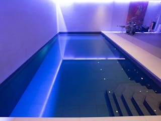 Gold Award Winning Subterranean Pool Minimalistische Pools von London Swimming Pool Company Minimalistisch
