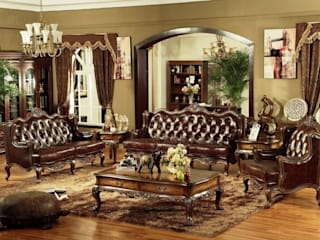 Designing a Vintage Living Room with Chesterfield Sofa Locus Habitat Living roomSofas & armchairs