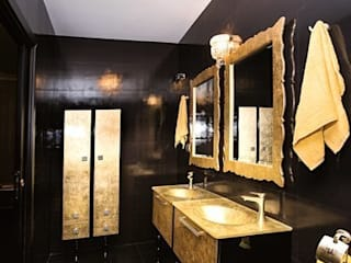 Showroom Madrid (Orense str.):  de estilo  de INTERIORES DE LUJO