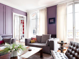 Salas de estilo moderno de HiCeBeNe Moderno