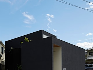 House in Higashimurayama Modern houses by 石井秀樹建築設計事務所 Modern