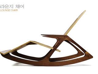 라운지 체어: OAKLAB의 현대 ,모던