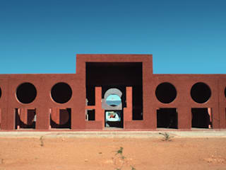 Houari Boumedienne agricultural village:  de estilo  de Ricardo Bofill Taller de Arquitectura