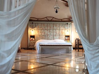 Provence Villa in İstanbul Orkun Indere Interiors Country style bedroom