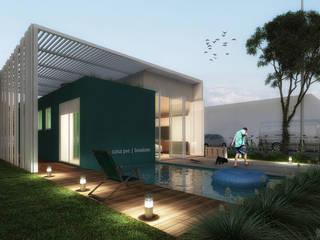 Moderne Häuser von AF Arquitetura Modern