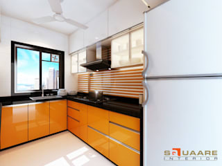 Kitchen units by Squaare Interior