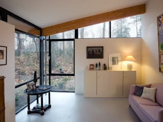 Villa's Bilthoven:  Studeerkamer/kantoor door Cita architecten
