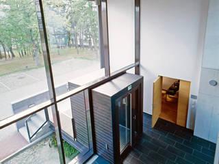 Bürogebäude für die Wildbach- und Lawinenverbauung, Wr. Neustadt-A von K n a u e r A r c h i t e k t e n, ZT