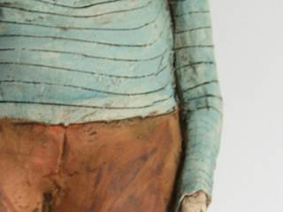 il fait chaque jour un noeud à son mouchoir pour ne pas l'oublier:  de style  par ATELIER TERRE DE LUNE