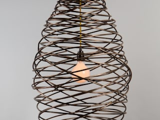 Cocoon light:   by James Price Blacksmith and Designer