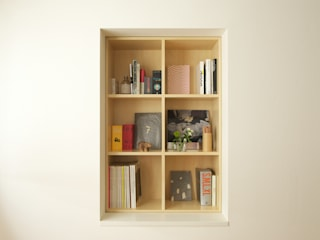 SWITCH apartment Modern Çalışma Odası YUKO SHIBATA ARCHITECTS Modern