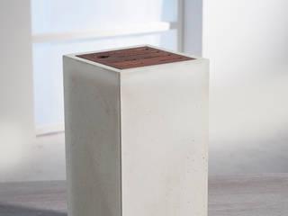 Messerblock aus Beton – puristisch, modern!:   von Wüsthof Dreizackwerk GmbH