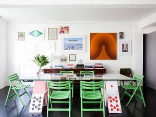 Dining room by Mauricio Arruda Design