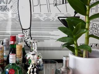 ANTONIO CARLOS RESIDENCE Ruang Keluarga Gaya Eklektik Oleh Mauricio Arruda Design Eklektik