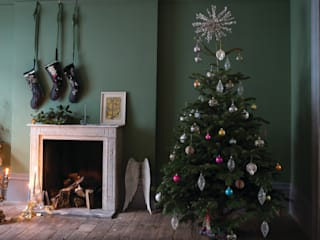 Christmas '14 Wiejski salon od Farrow & Ball Wiejski