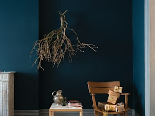 Living room by Farrow & Ball,