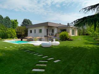 Vườn phong cách hiện đại bởi Studio d'Architettura MIRKO VARISCHI Hiện đại