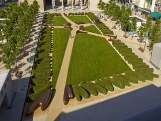 Place de la Résistance, Esch-sur-Alzette, Luxemburg:  Garten von Kamel Louafi Landschaftsarchitekten