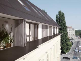 RasumofSKY Gardens - A rooftop project:  Häuser von Hofmann Architekten ZT GmbH