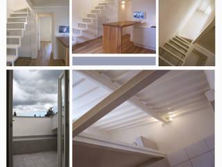 casa Cerofolini: Soggiorno in stile in stile Minimalista di architetto alessandro condorelli