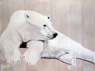 Thierry Bisch - Peintre animalier  - Animal Painter의 현대 , 모던
