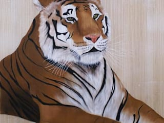 Limited editions de Thierry Bisch - Peintre animalier - Animal Painter Moderno