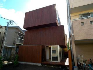 H-House 仲摩邦彦建築設計事務所 / Nakama Kunihiko Architects Modern houses