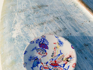 assiette Tornade de poissons:  de style  par Zéphyr & Co