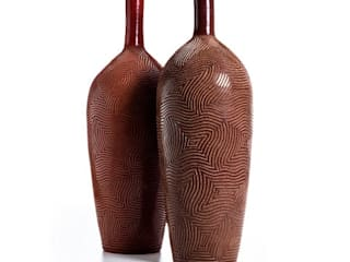 The Carved Ceramics Collection:  de style  par Wood & Clay