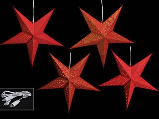 11577 - Stern zum Hängen aus Papier (ohne Beleuchtung):   von G. Wurm GmbH + Co. KG