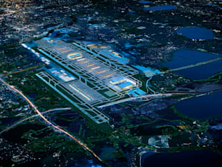 Heathrow T6:   by CGI Design Ltd,