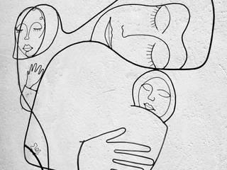 Tendre Enfance:  de style  par , LoR  Sculpteur Fildefériste