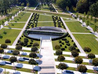 حديقة تنفيذ Kamel Louafi Landschaftsarchitekten, كلاسيكي