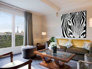 Home In-situ animal paintings Salas de Thierry Bisch - Peintre animalier - Animal Painter