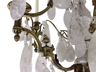 A Stunning 19th Century Russian Rock Crystal Chandelier: classic  by Antiques, Lighting and The Interior, Classic