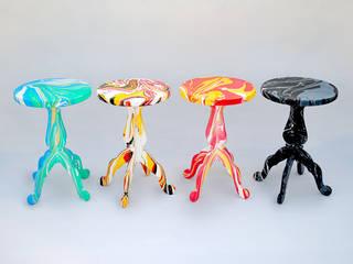 Swirling Stool: METAFAUX DESIGN의