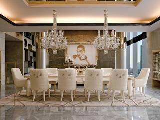 NUMEROTRE SALA DA PRANZO: Sala da pranzo in stile  di Turri srl