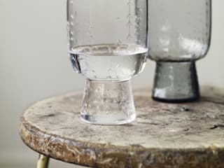 Clear sarjaton glasses (pair): scandinavian  by Fate London, Scandinavian