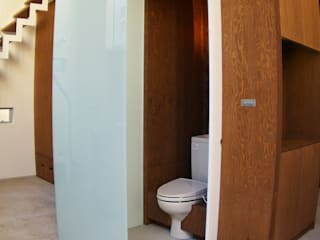 DOMA~春日部市N邸: 株式会社梁建築設計が手掛けた浴室です。