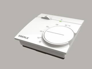 Raumtemperaturregler RTR 9000 von EBERLE Controls:: klassische Wohnzimmer von EBERLE Controls
