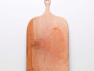 London Plane, Wooden Platter: rustic  by Fate London, Rustic