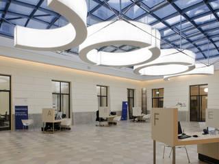 HU Westlicher LIchthof:  Schulen von Konzeptlicht lighting solutios GmbH